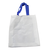 Recycle custom folding non woven shopping tote bags