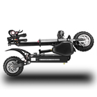 Electric Professional Large Wheel 60V And 40V Eu Dropshipping Off Road Double Motor 2800W High Speed Off-road Electric Scooter/
