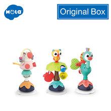 HOLA 3150 Игрушки для маленьких детей 2-в-чашечная присоска 1 шт. детский стульчик для зубов для новорожденных на возраст от 0 до 12 месяцев, таблиц...(Китай)