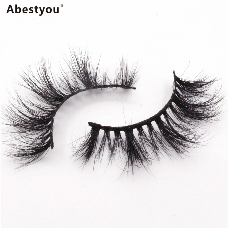 Abestyou Free Sample Custom False Eye Lash Packaging Box 3D mink eyelashes private label,Wholesale high quality eyelashes