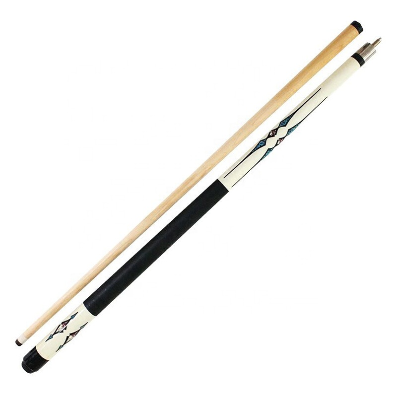 1/2 Jointed Billiard Pool Cue Stick Maple Wood Pro Sports 57Inch
