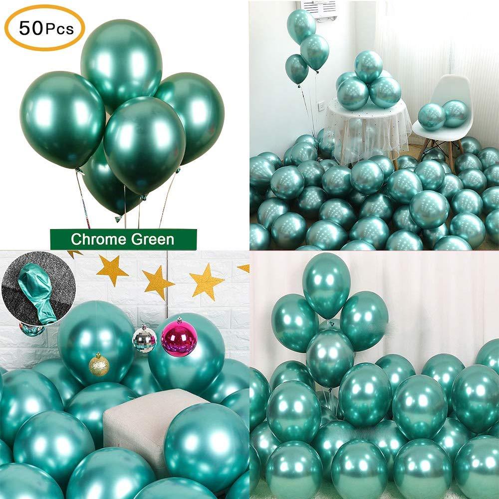 Partycool дешевой оптовой Metalizados Globos День рождения украшения хром партия латексная металлический шар