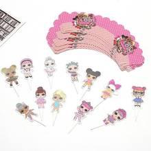 L. O. L. surprise! Куклы lol, игрушки на день рождения, вечеринку, фигурку, тема, украшения, товары для праздника, вечеринки, украшения, игрушки, подарк...(Китай)