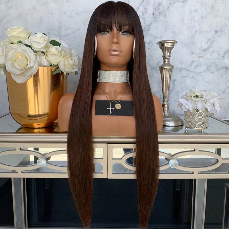 13x6 Lace Frontal Wigs Human Hair Burgundy Brazilian Virgin Hair Straight Hair Wigs for Black Woman
