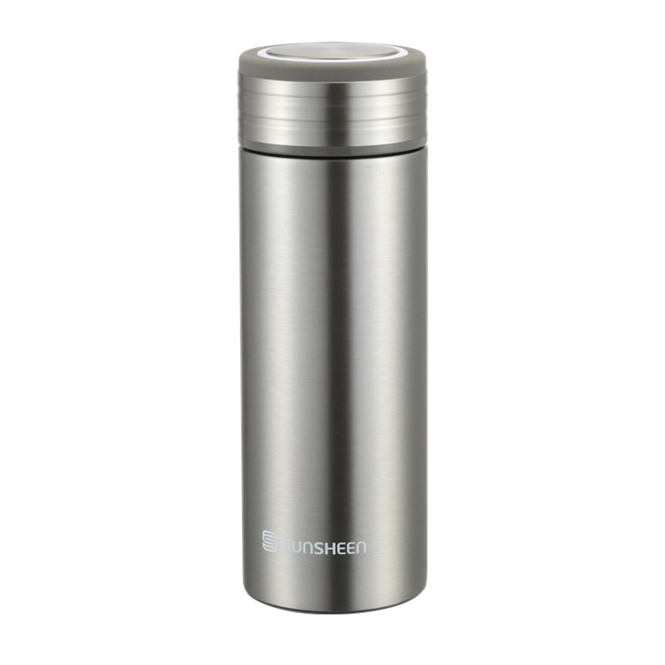450ml Insulated Water Bottle Double Wall Vacuum Stainless Steel 24 Hours Keep Hot No Leak Outdoor Sports Classic Bachelor C