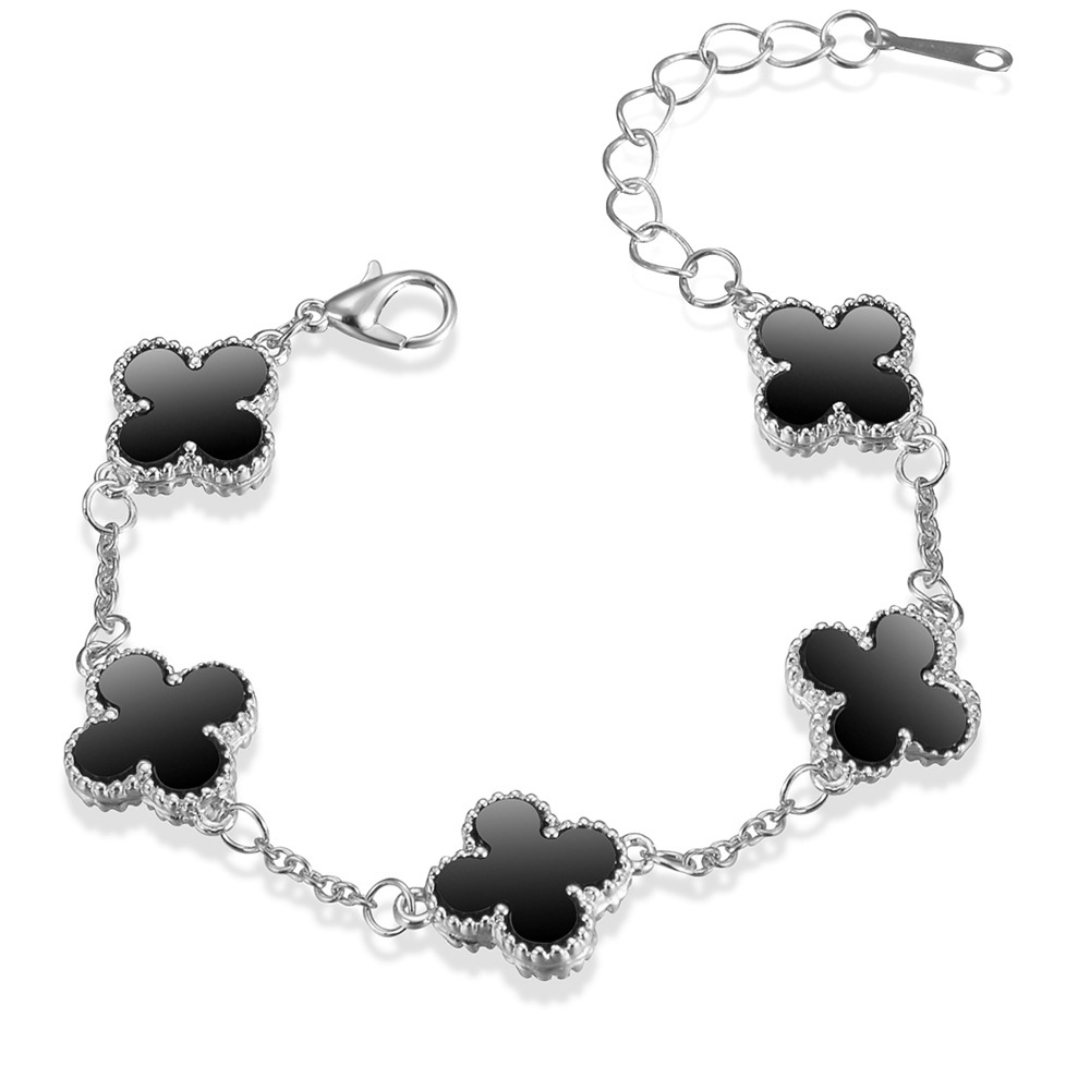 Wholesale Hot Sale Jewelry Casual Luxury Gift Accessories Women Lucky Flower Bracelet