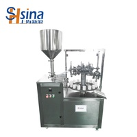 automatic filling sealing machine for cosmetic tube