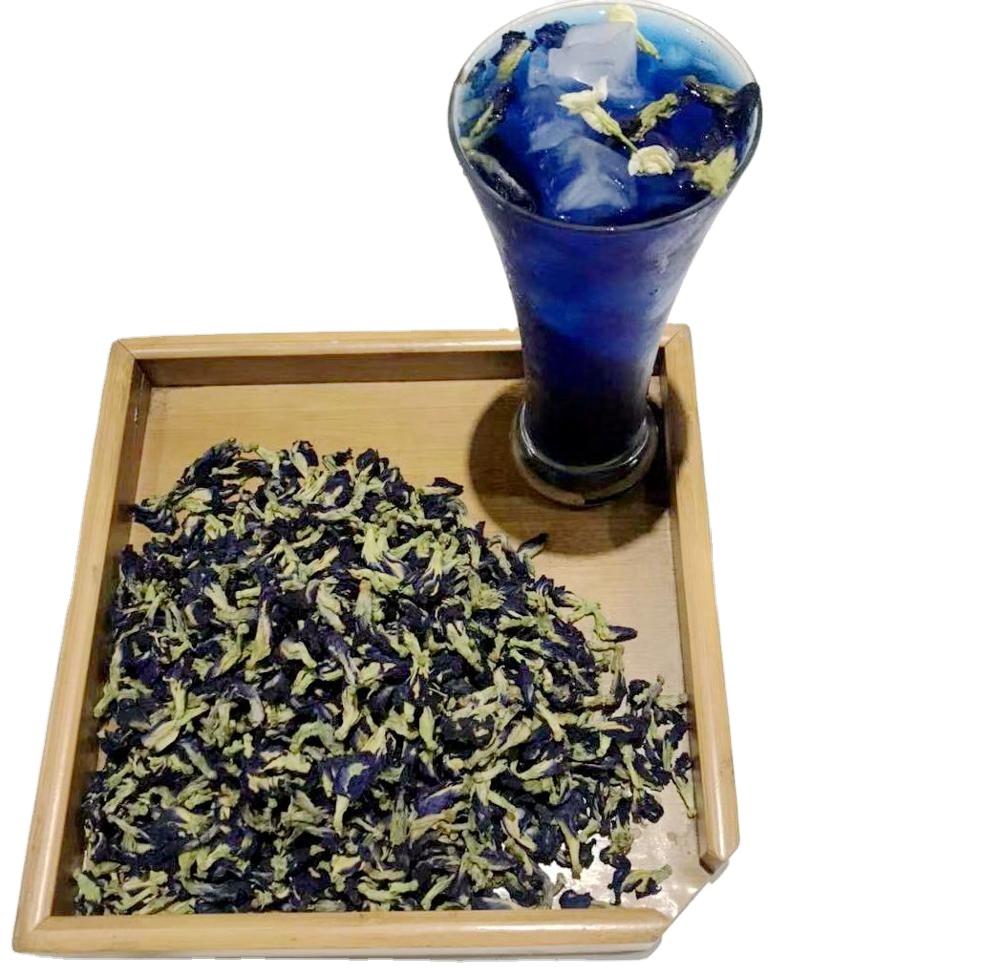 ZSL-HT-013M Dried Blue Butterfly Pea Tea Flower Herbs Health Care Drink Baked Beauty Brewed Paper Cups Kit Label - 4uTea | 4uTea.com