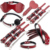 7PCS Set BDSM Sex Toy Paddle Whip Collar SM Slave Fun Game Crocodile Grain Set Bondage Restraint For Women
