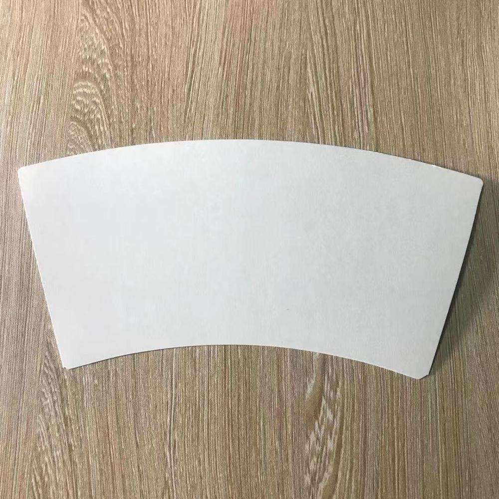 Paper cup raw material printed for customized paper cup fans