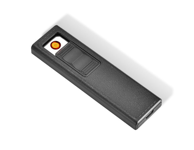 Baru 20-Pack Logam Kasus Rokok USB Dikenakan Elektronik Lebih Ringan Kotak Rokok Kreatif Pemegang Rokok