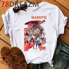 Наруто Акацуки футболка мужская, японское аниме, Харадзюку, хип-хоп, каваи, мультфильм, Узумаки, футболка с Наруто(Китай)
