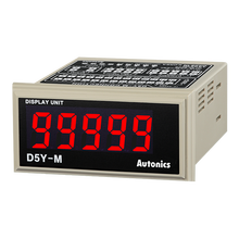 Autonics accurete D5Y-M Panel Mount 5-Dígitos Display Digital Unidade