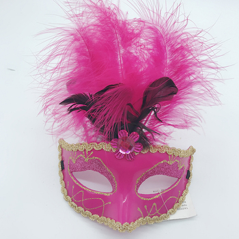 purple feather Champagne Masquerade Mask Mardi Gras Note Mask for Women Venetian Party Prom