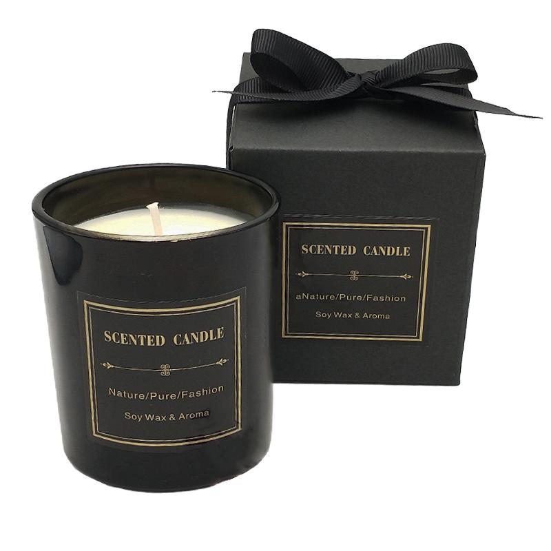 Private Label Natuurlijke Soja Wax Geurkaars Factory Custom Aromatherapie Jar Soja Wax Kaars