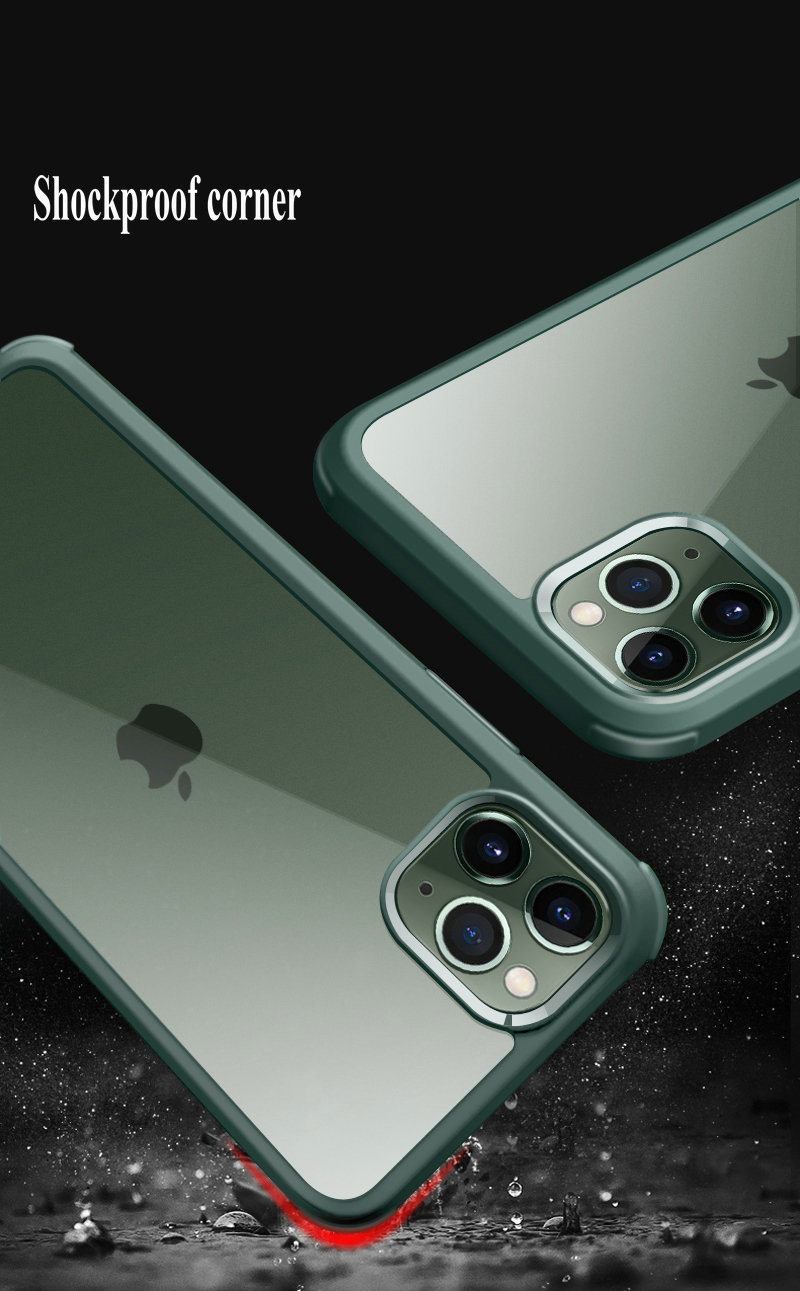 360 Graus de cobertura completa phone case, para o iphone 11/11pro/11 pro max caso cobre, escudo do telefone móvel