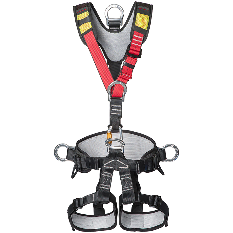 CE Standard rescue Safety Rock Mountain Climbing rope access climbing harness full body safety harness belt