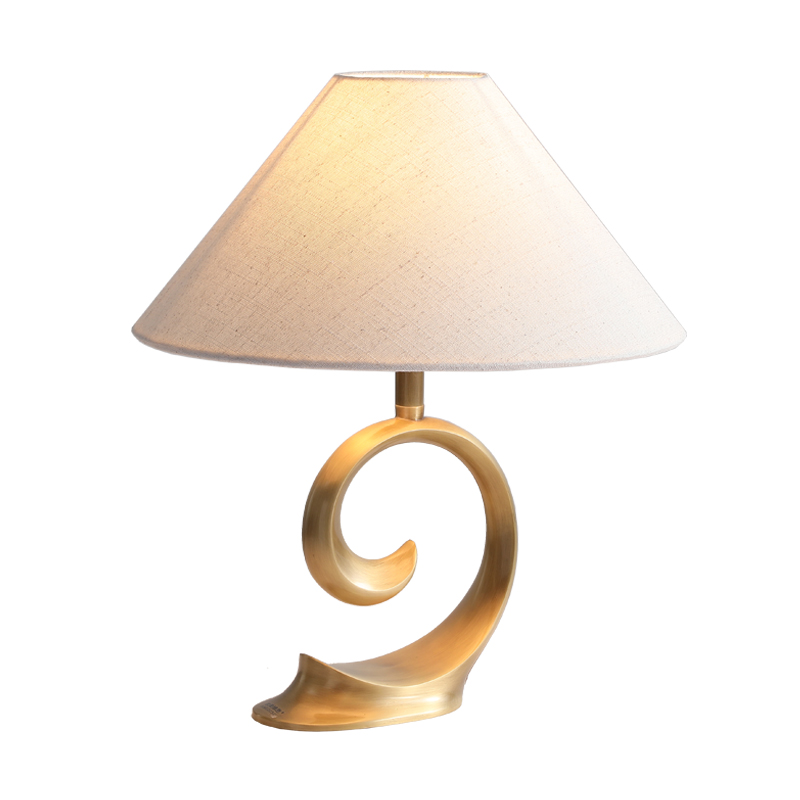 gold <strong>spiral</strong> resin <strong>lamp</strong> table <strong>lamp</strong> for hotel