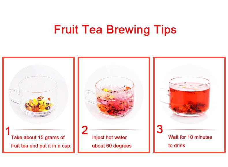 Popular Selling Blend Flavor Dried Fruit Tea Chinese Dried Fruit Tea - 4uTea | 4uTea.com