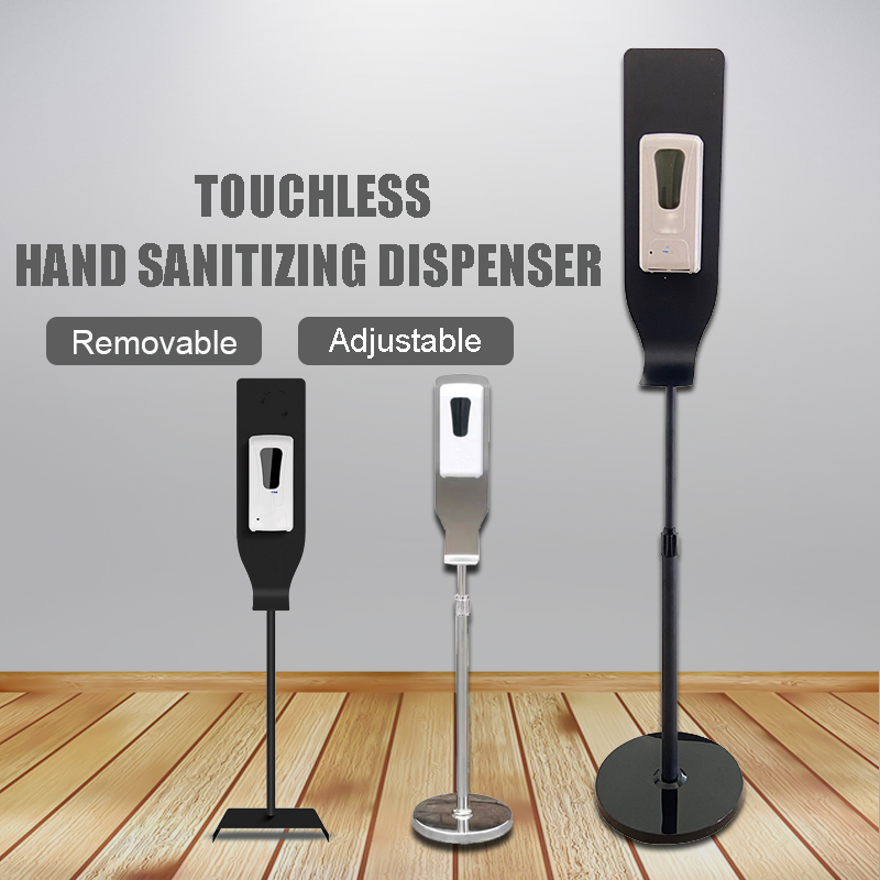 Sensor touch free elbow  hand sanitizer dispenser stainless steel automatic hand gel sanitizer dispenser