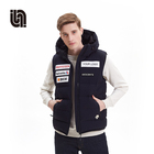 Fashion Vest Vest Down Wholesale Custom Fashion Winter Warm Men Reversible Down Vest