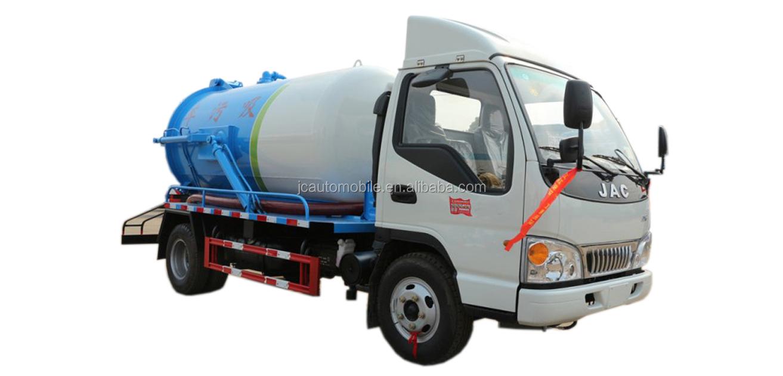 Beste Jac Truck China Riolering Tanksers Vrachtwagens Sales