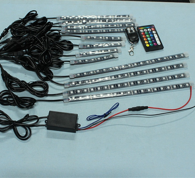Online retail strips for ip68 under body led strip motorcycle atmosphere light kits