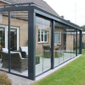 Designed garden house designs Glass plastic house sunroom for sale