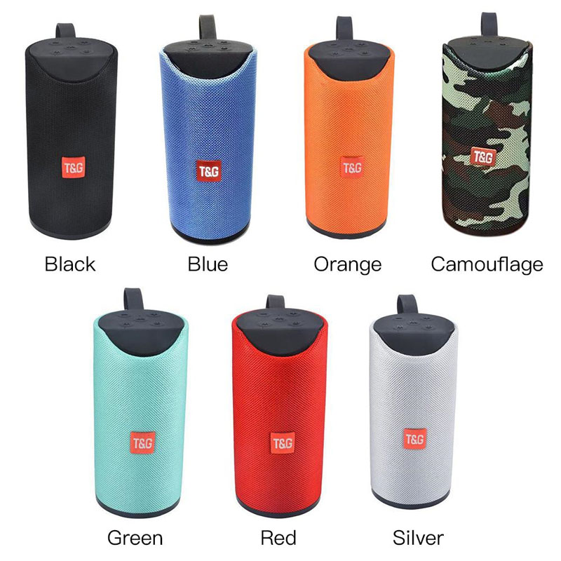 Asli T & G TG113 Speaker Portable Subwoofer Nirkabel Xtreme Kain Tahan Air Luar Ruangan TG-113bluetooth Speaker