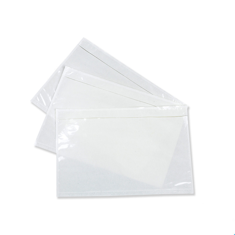 Clear Self-Adhesive Packing List Envelope for Document Packing