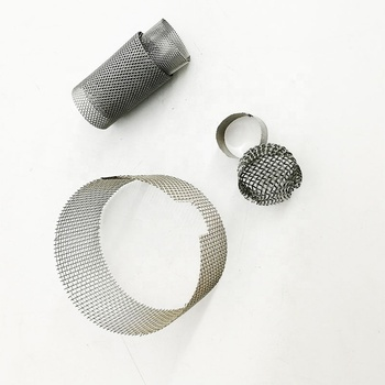 stainless steel micron mesh tube air filter cylinder