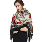 Hot Sale Poncho Printed Shawl For Women