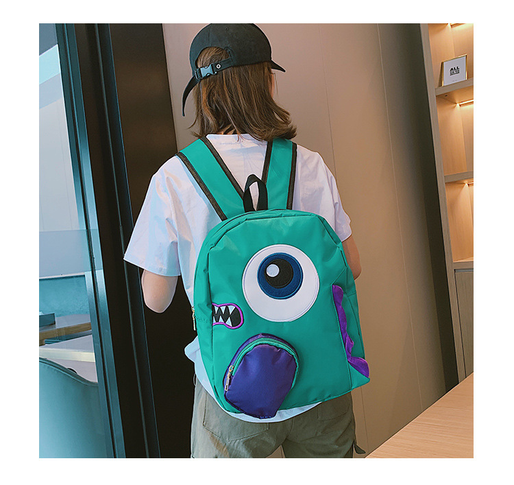 Little monster travel  backpack sweet female backpack school bag