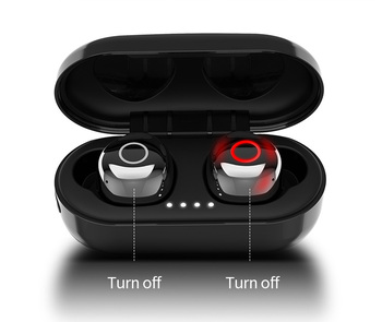 Red Dot Design Award Winner Stylish IPX7 TWS Wireless Waterproof Earbuds,18-Hours Music Play Smart Noise Reduction Calls