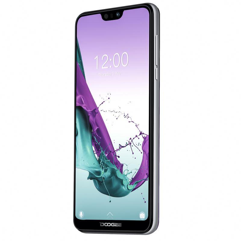 Drop Kapal DOOGEE N30 Jari Membuka Layar Penuh 4G Ini dengan Harga Murah Smartphone Android 6.55 Inci 4GB + 128GB 4500MAH dengan 4 Camera