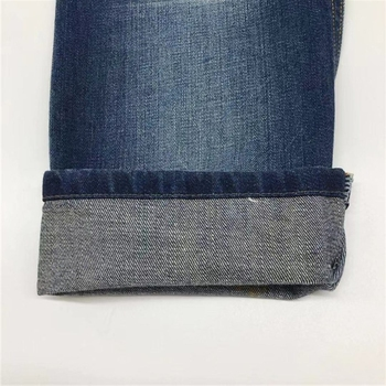 warp-faced twill weaving spandex denim fabric for navy jeans