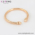 52598 xuping jewelry open cuff 18k gold color Elegant No stone bangle