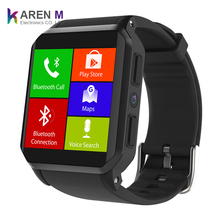 Vente chaude Kingwear Smartwatch Tactile Complet IP68 Imperméable KW06 3G Android Montre Intelligente