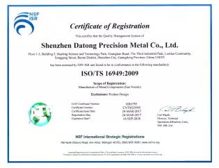 Alta calidad estándar Global del molde deslizante retenedores