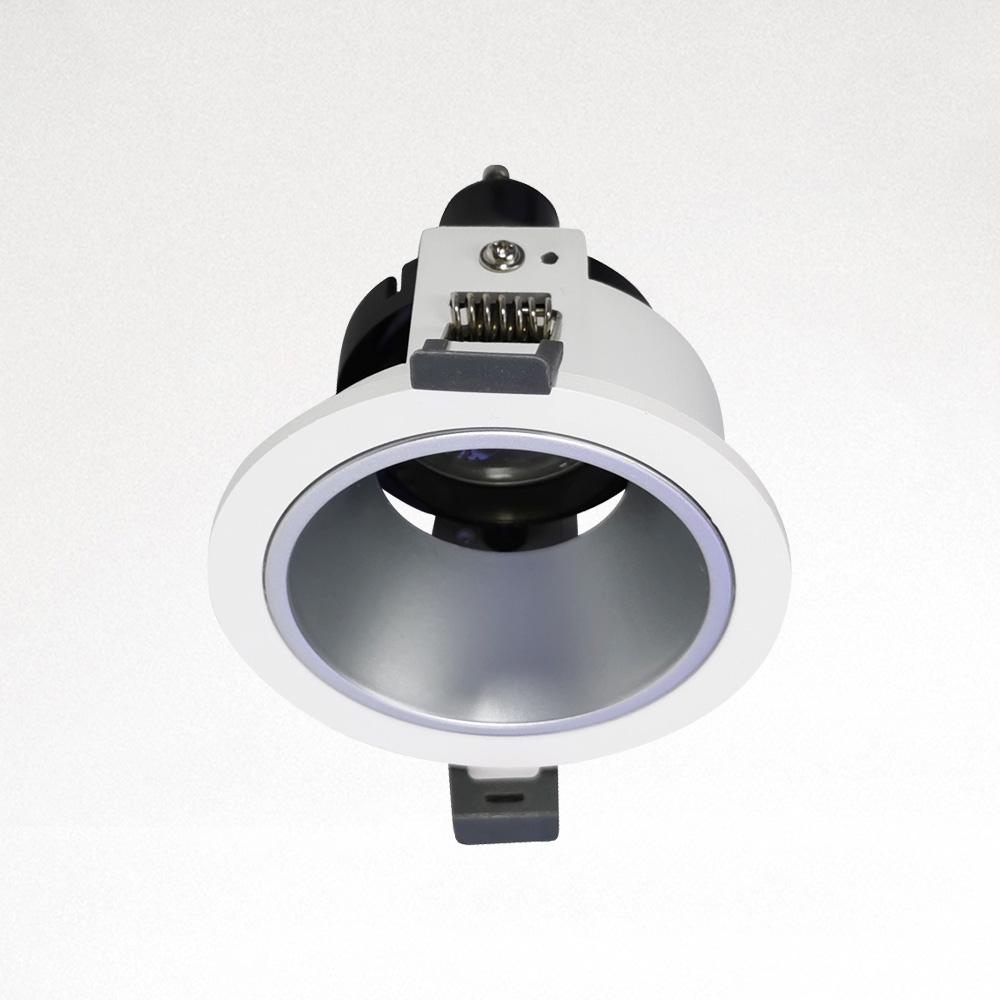 2020 Hot Sales Round GU10/ MR16 Spotlight Housing Recessed LED Ceiling Downlight Fixture Downlight Holder