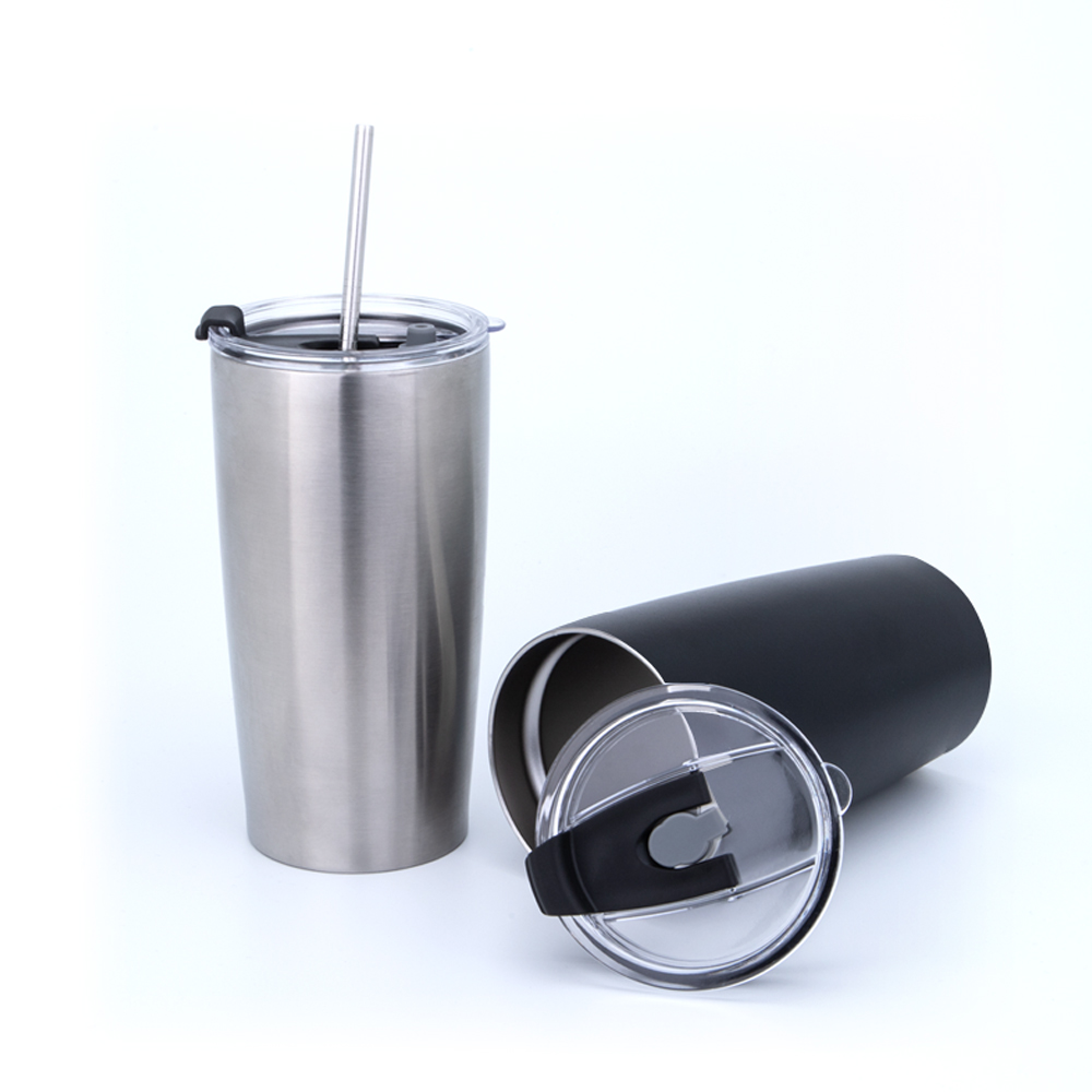China manufacturer stainless steel cups tumbler copper lined coffee travel mug cup for sale