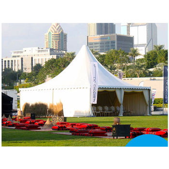 Made In China Wholesale OEM ODM Luxury Play Event Tents 8x8m Big Outdoor Party Pagoda Tent
