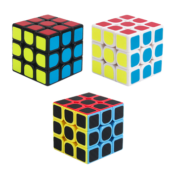 6.2CM Third order 3x3x3 ABS Speed Standard Competition Magic Cube