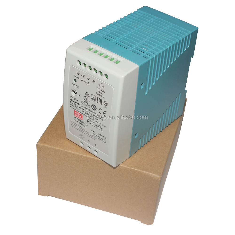 MDR-100-24 100W 24V 4A Meanwell Single Output Din Rail Power Supply 24VDC