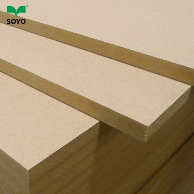 cheap <strong>price</strong> raw <strong>MDF</strong> 18MM plain <strong>mdf</strong> board for furniture