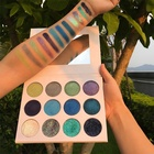 Private label make up cosmetics no brand new 24 colors eyeshadow palette