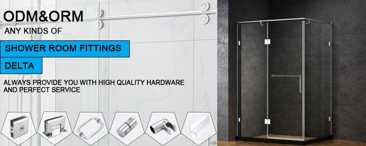 Charnières de porte en laiton, 2 pièces, de haute qualité en verre, plaque de base en H, charnière