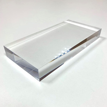 Acrylic Solid Display Block Perspex Block for Jewellery Counter Display Acrylic Shop Window Till retail Collectors