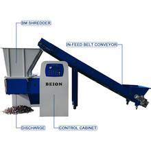 BM-600 <span class=keywords><strong>Plastic</strong></span> Shredding Machine Enkele <span class=keywords><strong>As</strong></span> <span class=keywords><strong>Shredder</strong></span> voor Size Reductie