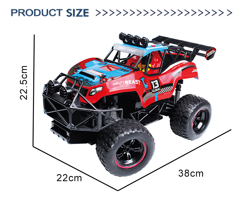 Off road high speed 1:12 scale 2.4G electric vehicle radio control toys trucks car rc
